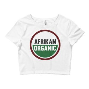 Afrikan Organic Women's Crop Tee